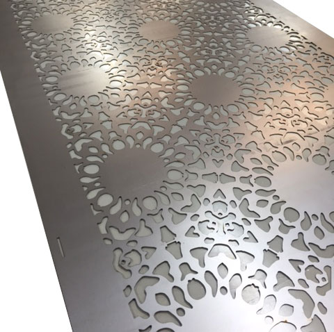 Beautiful laser cut furniture for residential and commercial interiors