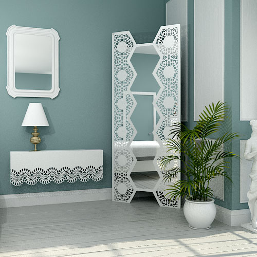 Decorative wall mounted and freestanding bedroom mirrors for Fancy mirrors for bedrooms
