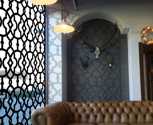 Islamic And Arabic Patterned Laser Cut Metal Window Screens
