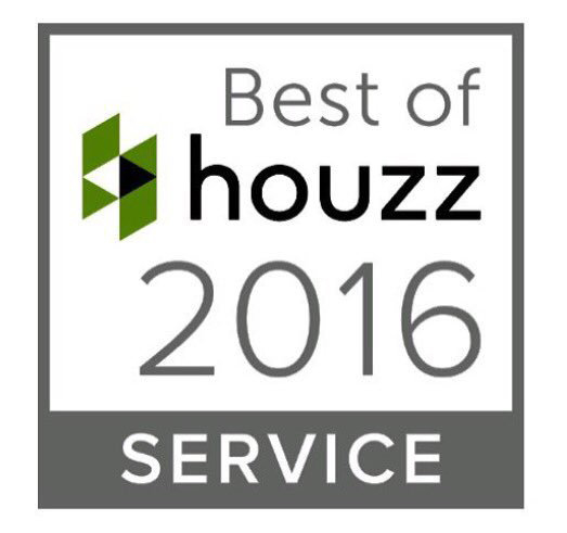 houzz 2016 excellence in service award