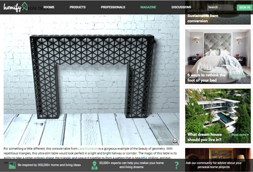 As featured in Homify