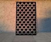 Architectural laser cut panels and perforated screens