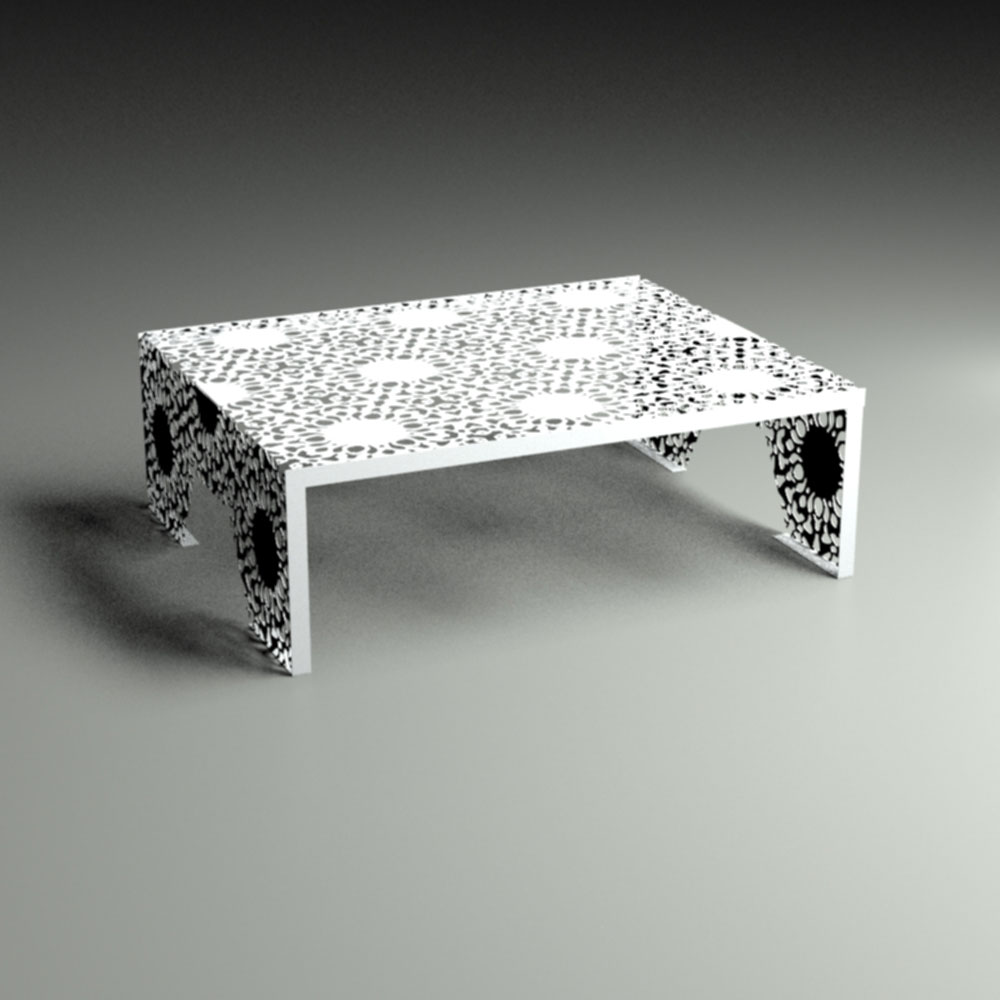 Lace patterns nottingham lace coffee table for Coffee tables 80cm wide