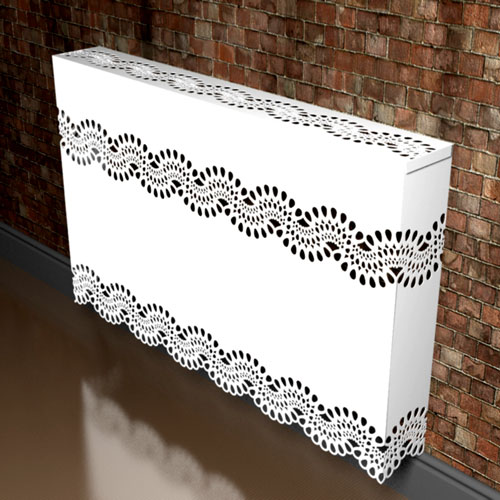 Chantilly Lace Radiator Covers