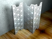 Nottingham Lace Room dividers and partition screens by Lace Furniture