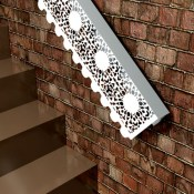 Windsor Lace Fancy Architectural Handrails from Lace Furniture