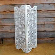 White Lace Room dividers by Lace Furniture
