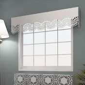 Chantilly Lace Window Pelmets by Lace Furniture