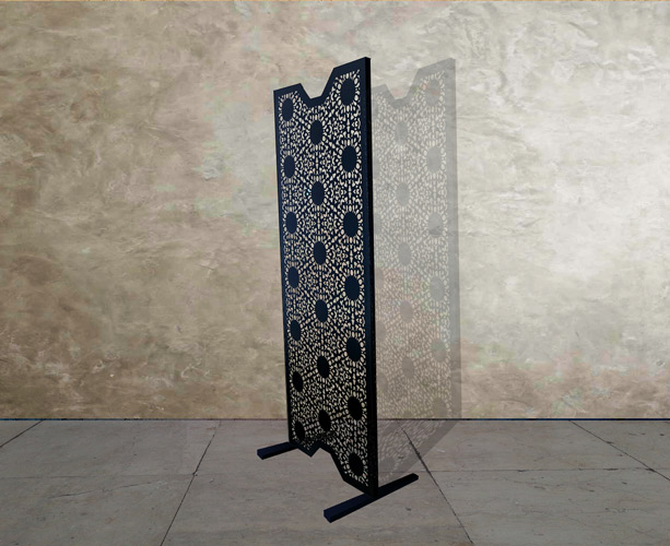 Perforated Screen in Lace pattern